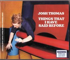 JOSH THOMAS Things That I Have Said Before CD 2010 live stand-up Melbourne oz