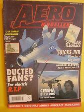 AEROMODELLER MARCH 1995 TAN II STEFAN GASPARIN JOHN COOPER YOICKS JUNIOR