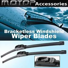 "Pair 24""&18"" OEM Bracketless Frameless Window Windshield Wiper Blades Wipers"