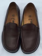FOOTPRINTS by BIRKENSTOCK Brown Leather loafers/slip on shoes Sz 5.5/36 NWOB