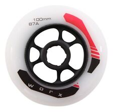Worx kick Board Wheel 100 mm 87a Stunt scooter City Roller rueda de repuesto alufelge nuevo!