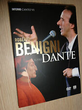 DVD N° 6 ROBERTO BENIGNI TUTTO DANTE INFERNO CANTO VI SESTO DIVINA COMMEDIA