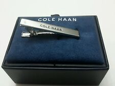 Cole Haan Men's Tie Clip Stainless Steel Silver NWT $58