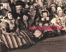 The Wizard of Oz signed behind/scenes photo Ruth Duccini Munchkin Yellow Brick