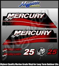 MERCURY - 25 hp - OUTBOARD DECAL SET