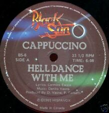 """12"""" Maxi    Cappuccino  – Hell Dance With Me"""