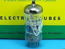 AMPEREX BUGLE BOY 6DJ8 ECC88 VACUUM TUBE 1960s SINGLE WARM SWEET TONE HEERLEN