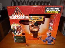 RARE, SMALL SOLDIERS, STRING BLASTER ARCHER, NEW IN BOX, 1998