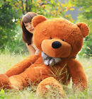 Hot!!! Giant 95CM Big Cute Deep Brown Plush Teddy Bear Huge Soft 100% Cotton Toy