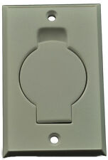 Central Vacuum Cleaner Auto Inlet Door Face Plate