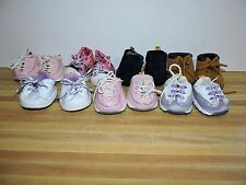 Build A Bear Shoe Lot 7 BABW Shoes Skechers, Hiking Boots, etc