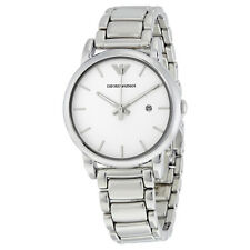 Emporio Armani Classic White Dial Mens Watch AR1854