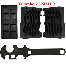NEW 3 Combo M4/AR15 223/556 Upper & Lower Vise Block & Wrench Armorer's Tool Kit