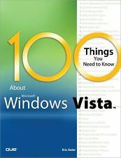 100 Things You Need to Know about Microsoft Windows Vista-ExLibrary