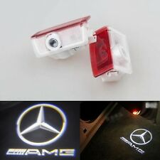 2x Laser LED Door courtesy Projector Light For Mercedes GLA class X156 45 AMG 14