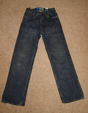 Boys Childs GAP Kids Blue Jeans Frayed Distressed Trousers Age 12 Yrs Used