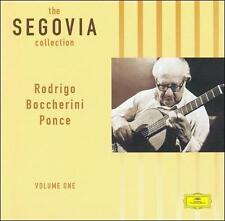 Andr's Segovia / The Segovia Collection, Vol. 1 (LIKE NW CD Grammophon) Granick