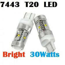 7443 T20 Super BRIGHT 30W CREE LED Tail Light Turn Signal Bulbs Corolla Camry
