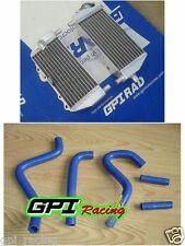 R&L radiator + hose kawasaki KX125 KX250 KX 125 250 94-02 01 00 95 96 97 98 99