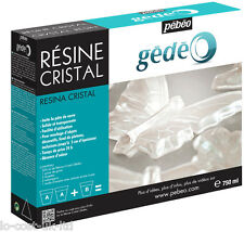 PEBEO GEDEO CRYSTAL RESIN - IMITATES GLASS PASTE SOLID & TRANSPARENT 750ml