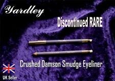 YARDLEY Smudge eyeliner Smokey  CRUSHED DAMSON purple lilac amethyst V RARE B57