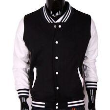 Unisex Varsity Baseball Letterman Jacket Coat Stylish College Jacket
