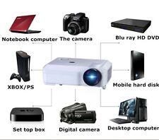 3500LM 1280x800 Home Theater and Business LED Projector VGA USB SD HDMI Input
