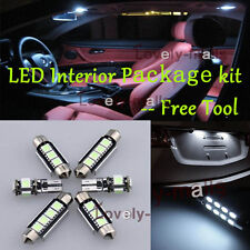 Error Free White Car Auto Light Interior LED Package 9x for VW Scirocco 3 R L8