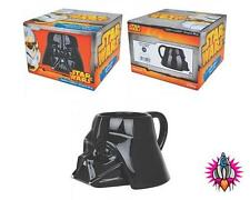 OFFICIAL STAR WARS DARTH VADER SHAPED 3D MUG COFFEE CUP NEW IN GIFT BOX