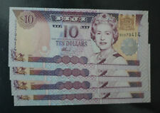 2002 Fiji $10 Dollar Uncirculated P106