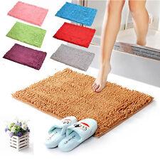 US Fantastic Job Shaggy Microfibre Bathroom Shower Bath Mat Rug Carpet Non-Slip
