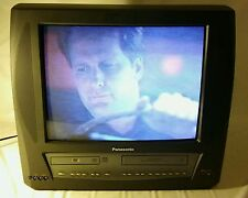 Panasonic 3 in 1 Tv 20inch Tv VCR Dvd CRT Combo PV-Dm2093 Works Great except dvd