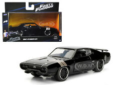 "DOM'S PLYMOUTH GTX ""FAST & FURIOUS"" F8 MOVIE 1/32 DIECAST MODEL BY JADA 98300"