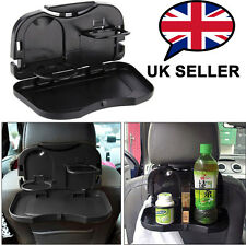Universal Folding Auto Car Back Seat Table Drink Food Stand Desk Cup Tray Holder