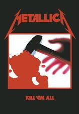 """METALLICA AUFKLEBER / STICKER # 29 """"KILL 'EM ALL"""""""