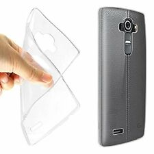 0.3 mm Soft Silicon TPU Transparent Back Case Cover for LG G4