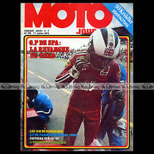 MOTO JOURNAL N°179 FN FABRIQUE NATIONALE 12 SM ESCOL 1000 KREIDLER VAN VEEN 1974