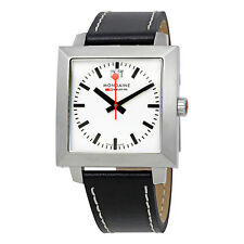 Mondaine Evo White Dial Mens Watch A685.30336.11SBB