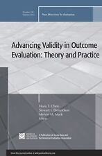 Advancing Validity in Outcome Evaluation: Theory and Practice: New Directions fo
