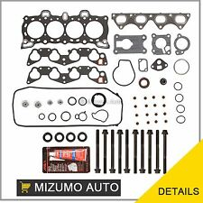 Fit 92-95 1.5 L Honda Civic D15B7 Head Gasket Set + Bolts