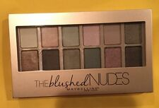 Maybelline New York Expert Wear EyeShadow Palette, The Blushed Nudes NEW