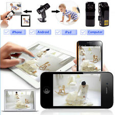 For Android iPhone PC Mini Wifi IP Wireless Surveillance Camera Remote Cam FT