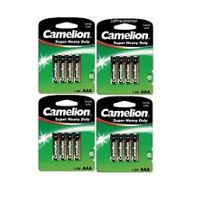 16x Batterie CAMELION Typ AAA Micro R03 UM4 Super Heavy Duty 1,5 V