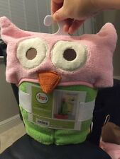 "Circo Owl Love 'N Nature Hooded Towel 24"" x 52"" New!!!"