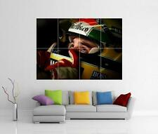 AYRTON SENNA F1 HELMET - GIANT WALL ART PHOTO PRINT POSTER