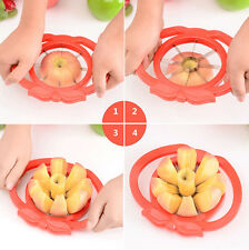 Fashion ABS Stainless Steel Kitchen Tool Apple Fruit Easy Slicer Peeler Cutter