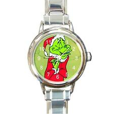THE GRINCH WHO STOLE CHRISTMAS CHARM WATCH NEW GREEN BACKGROUND