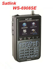 Original SATLINK WS-6908SE Digital Satellite Finder Support KB-LIGHT & BACKLIGHT