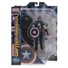 Marvel Select Avenging Captain America Action Figure by Diamond Select