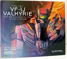 Arcadia 1/60 Macross Robotech Valkyie VF-1J 30 Anniversary Version Action Figure